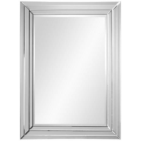 Bryse glass 36 x 48 vertical wall mirror 24m58 for Window 48 x 36