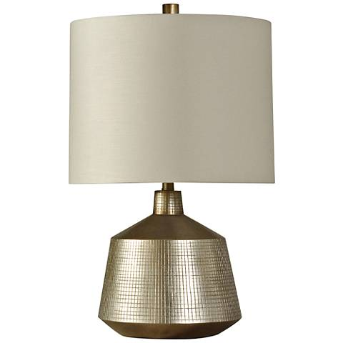 Moore Silver Accent Table Lamp