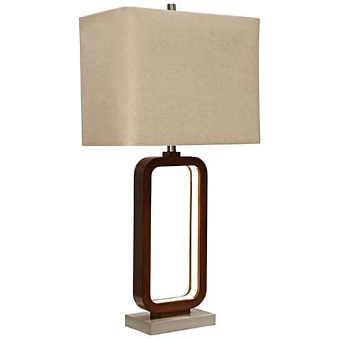 Wellwood Brown Inner LED Table Lamp