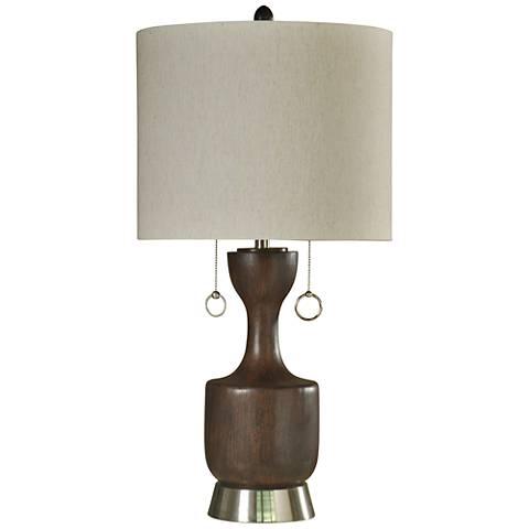 Walnut Ridge Brown Table Lamp