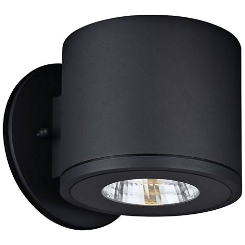 """Rox 5 1/4"""" High Anthracite LED Outdoor Wall Light"""