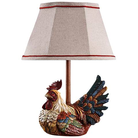 Carlin Chicken Accent Table Lamp