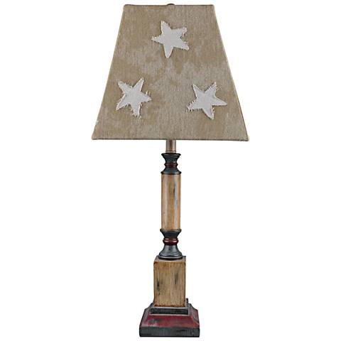 Independence Antique Ivory Table Lamp