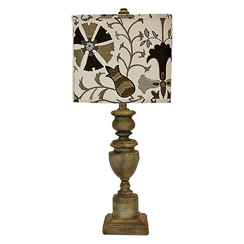 Copen Brown Urn Table Lamp