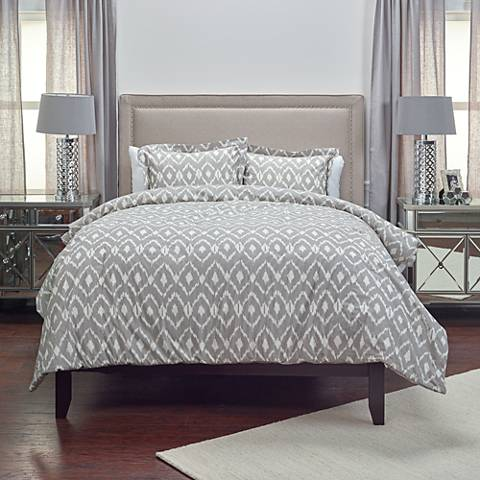 Kalaloo 3-Piece Taupe Comforter Set