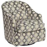 Piazza Heron Swivel Accent Chair
