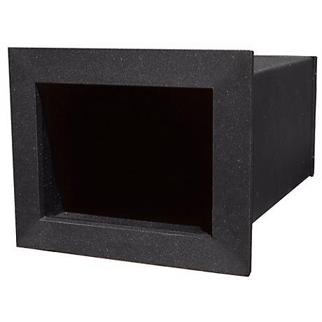 Manchester Black Finish Insert Newspaper Box