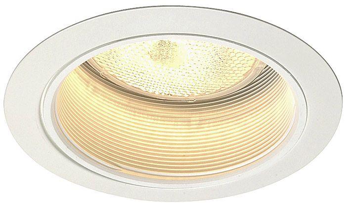 Juno 5  Line Voltage White Baffle Recessed Light Trim  sc 1 st  L&s Plus & Juno 5