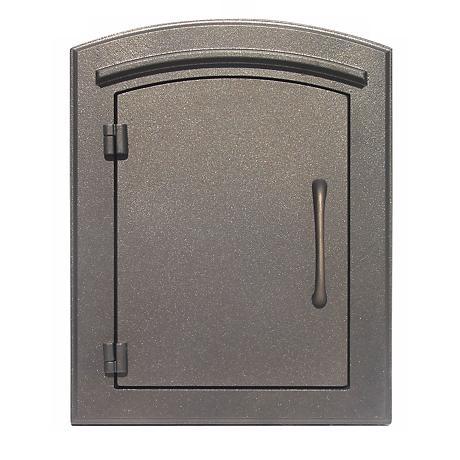 Manchester Plain Bronze Column Insert Mailbox