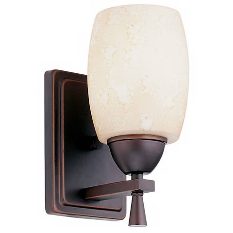 Ferros Antique Bronze ENERGY STAR® Wall Sconce