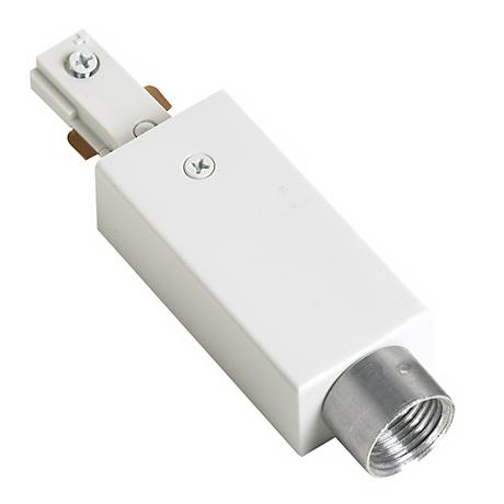 Juno Surface Conduit Adapter in White
