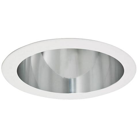 "Intense 4"" CFL Clear Recessed Lighting Reflector Trim"