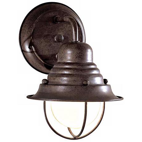 "Wyndmere Collection Bronze 9"" High Outdoor Wall Light"