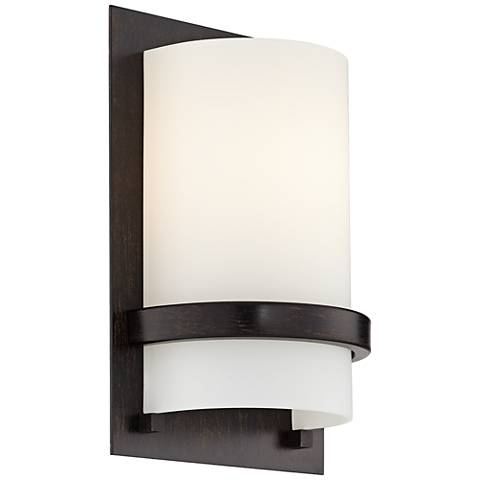 "Minka Lavery Contemporary Iron 10"" High Wall Sconce"