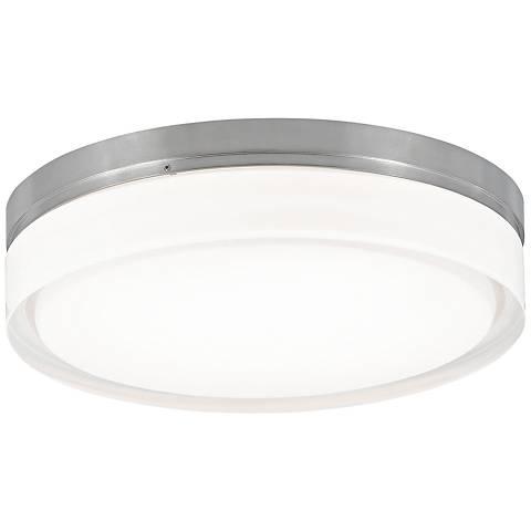 "Tech Lighting Cirque 11""W Nickel Round Ceiling Light"