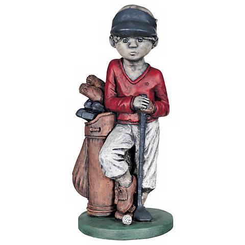 "Golfer 24"" High Garden Accent"