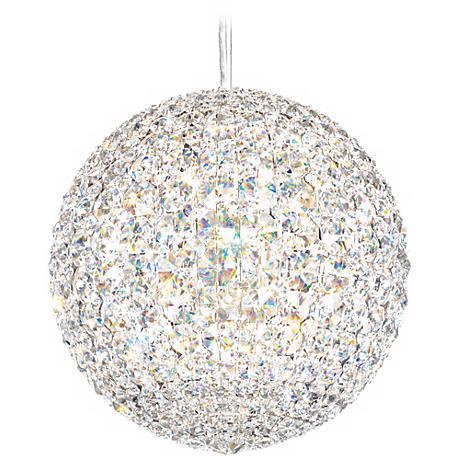 "Schonbek Da Vinci Collection 15"" Wide Crystal Pendant Light"