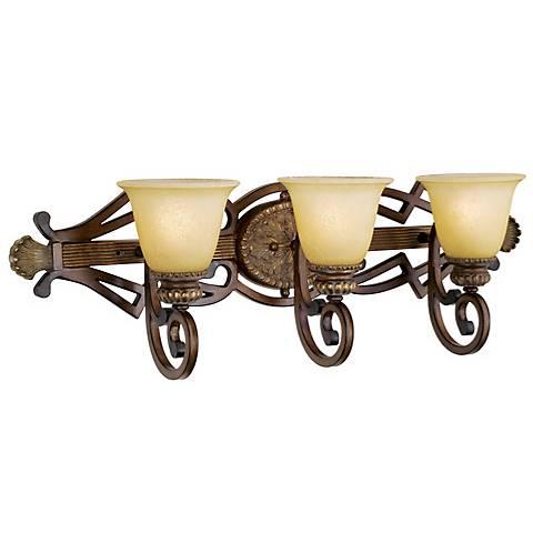 """Belcaro Collection 30 3/4"""" Wide Bathroom Light Fixture"""