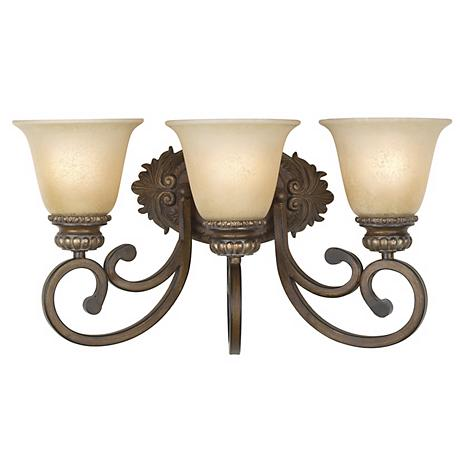 """Belcaro Collection 19 1/2"""" Wide Wall Sconce"""