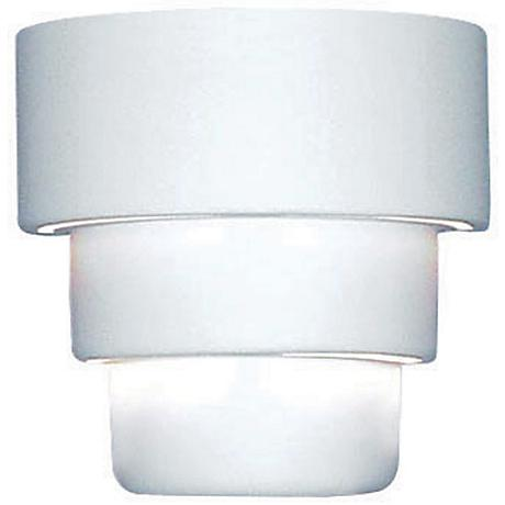 """Up/Down 10"""" High Ceramic Outdoor Wall Light"""