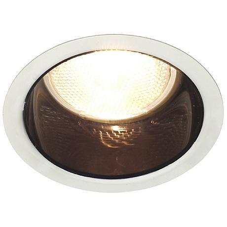 "Lightolier 5"" Line Voltage Black Alzak Recessed Light Trim"