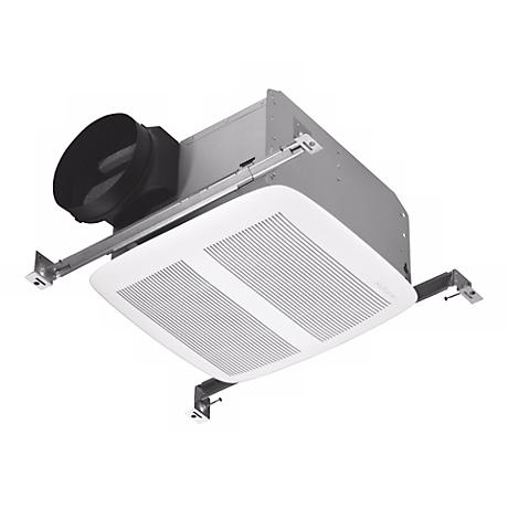 nutone white energy star 6 ducting bathroom exhaust fan. Black Bedroom Furniture Sets. Home Design Ideas