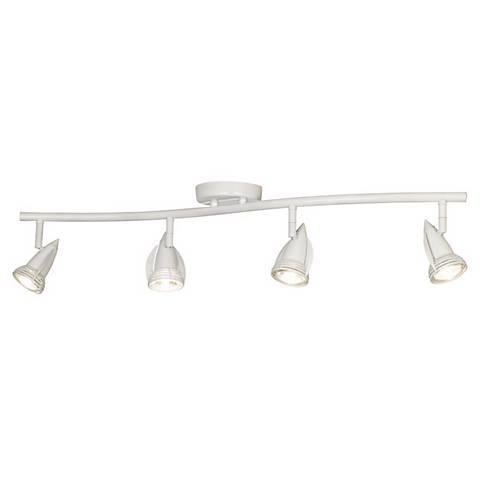 Pro Track® 200 Watt 4-Light White Mini Wave Ceiling Light