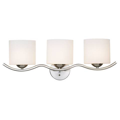"Possini Euro Design Wave Collection 27 1/4""-W Bathroom Light"