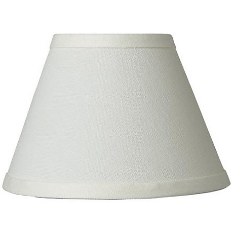 Cream Chandelier Lamp Shade 3.5x7x5 (Clip-On) - #29871 | Lamps Plus
