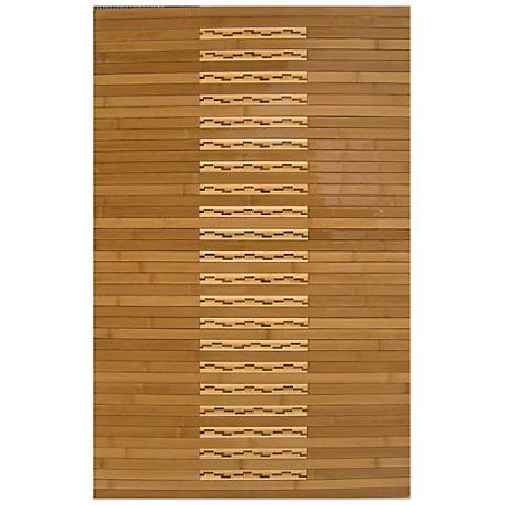Natural Bamboo AMB0090 Kitchen and Bath Mat