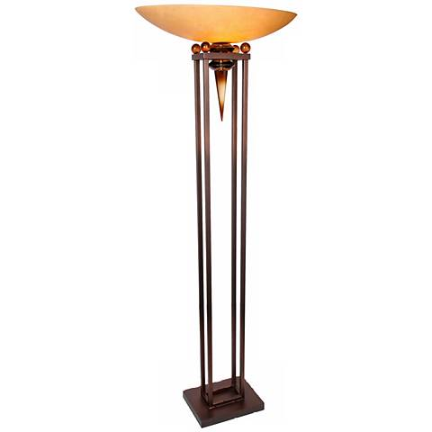 Van Teal Triumphant Torchiere Floor Lamp