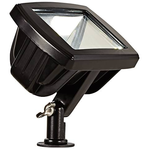 Black Low Voltage LED Landscape Flood Light