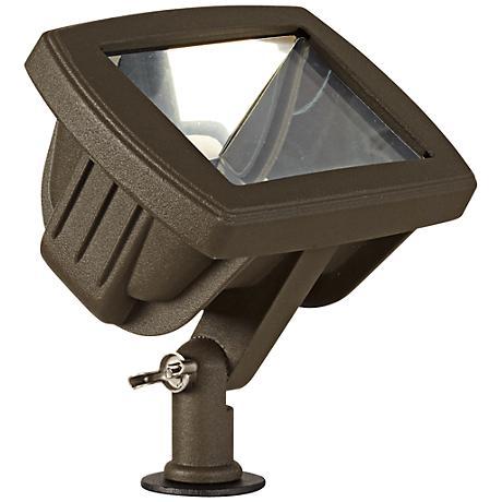 bronze low voltage led landscape flood light 2c479. Black Bedroom Furniture Sets. Home Design Ideas