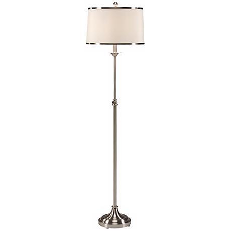 Frederick Cooper Harper Nickel Plated Floor Lamp