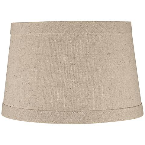 Springcrest™ Natural Linen Drum Shade 10x12x8 (Spider)