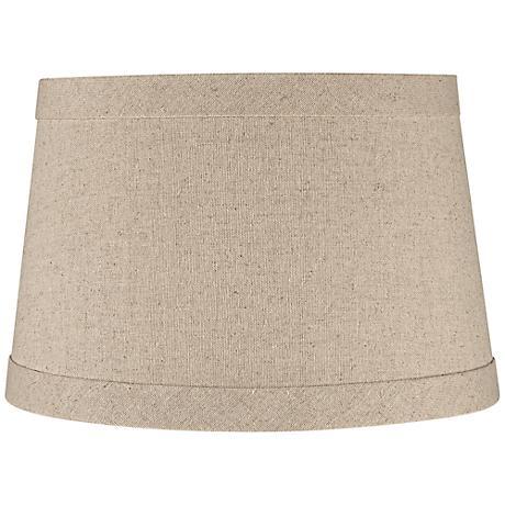Springcrest™ Natural Linen Drum Shade 10x12x8 (Spider)