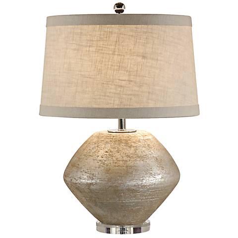 Wildwood Fiametta Terra Cotta Silver Table Lamp