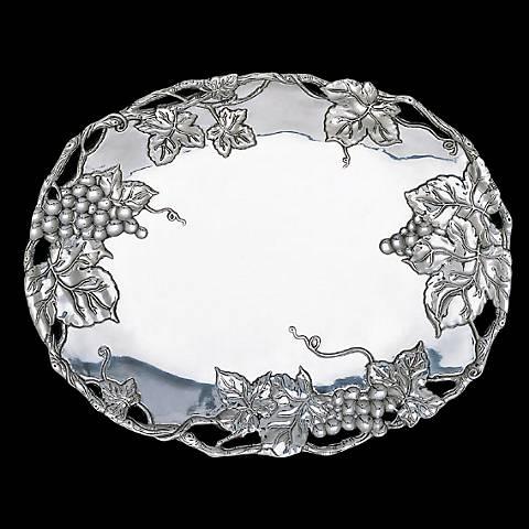 Arthur Court Grape Oval Platter