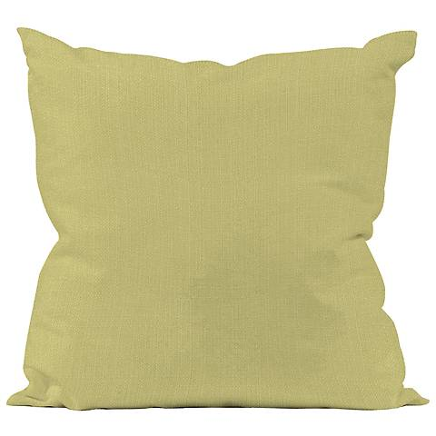 """Howard Elliott 16"""" Square Sterling Green Throw Pillow"""