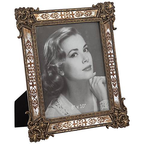Pink Mother Of Pearl 8x10 Frame W4978 Lamps Plus
