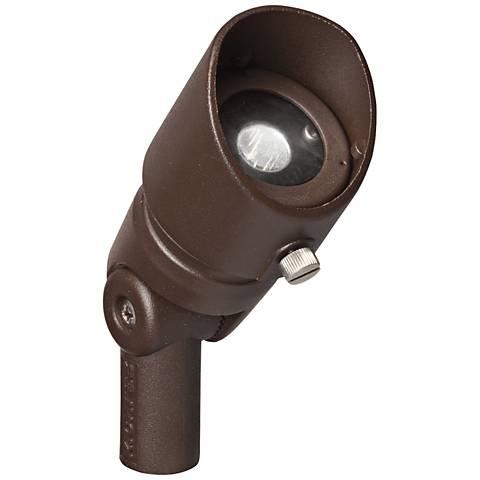 Radiax 2700K 35-Degree 3-Watt LED Bronze Flood Light