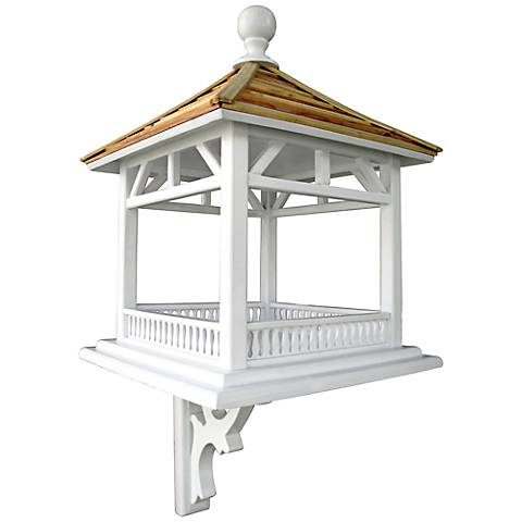 Dream House White Gazebo Feeder