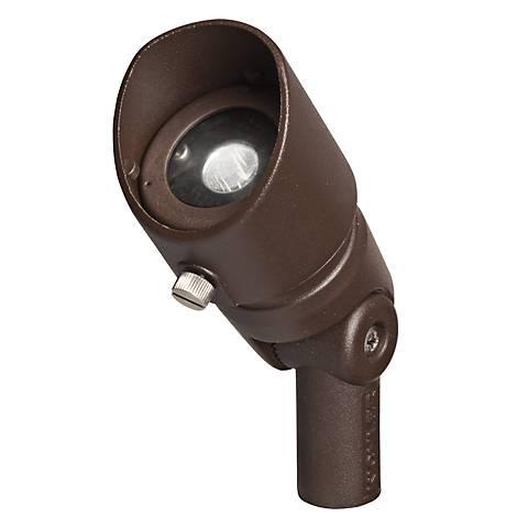 Radiax 2700K 60-Degree 3-Watt LED Bronze Wide Flood Light