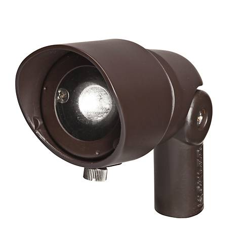 Radiax 2700K 60-Degree 3-Watt LED Rich Bronze Flood Light