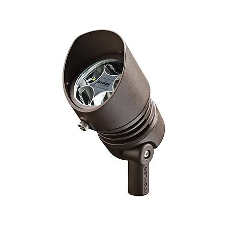 Radiax 3000K 35-Degree 6.5-Watt LED Bronze Flood Light