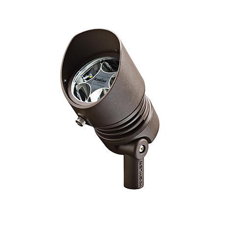 Radiax 3000K 35-Degree 13-Watt LED Bronze Flood Light