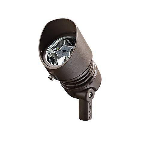 Radiax 2700K 60-Degree 13-Watt LED Bronze Flood Light