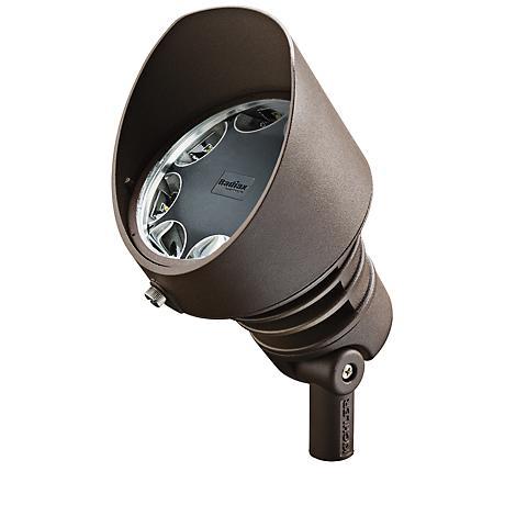 Radiax 2700K 35-Degree 21-Watt LED Bronze Flood Light