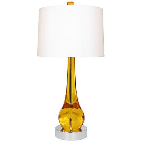 Van Teal Magic 33 High Gold Acrylic Table Lamp