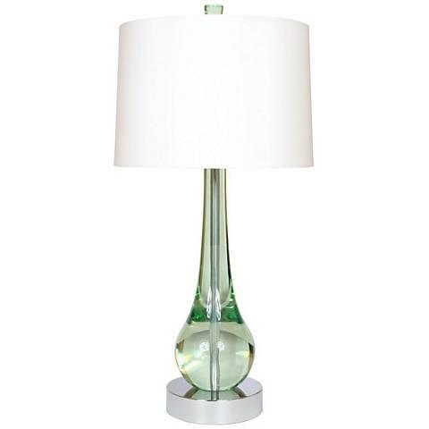 "Van Teal Wonder 33"" High Mint Acrylic Table Lamp"
